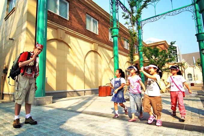 韓国のサマースクールの様子